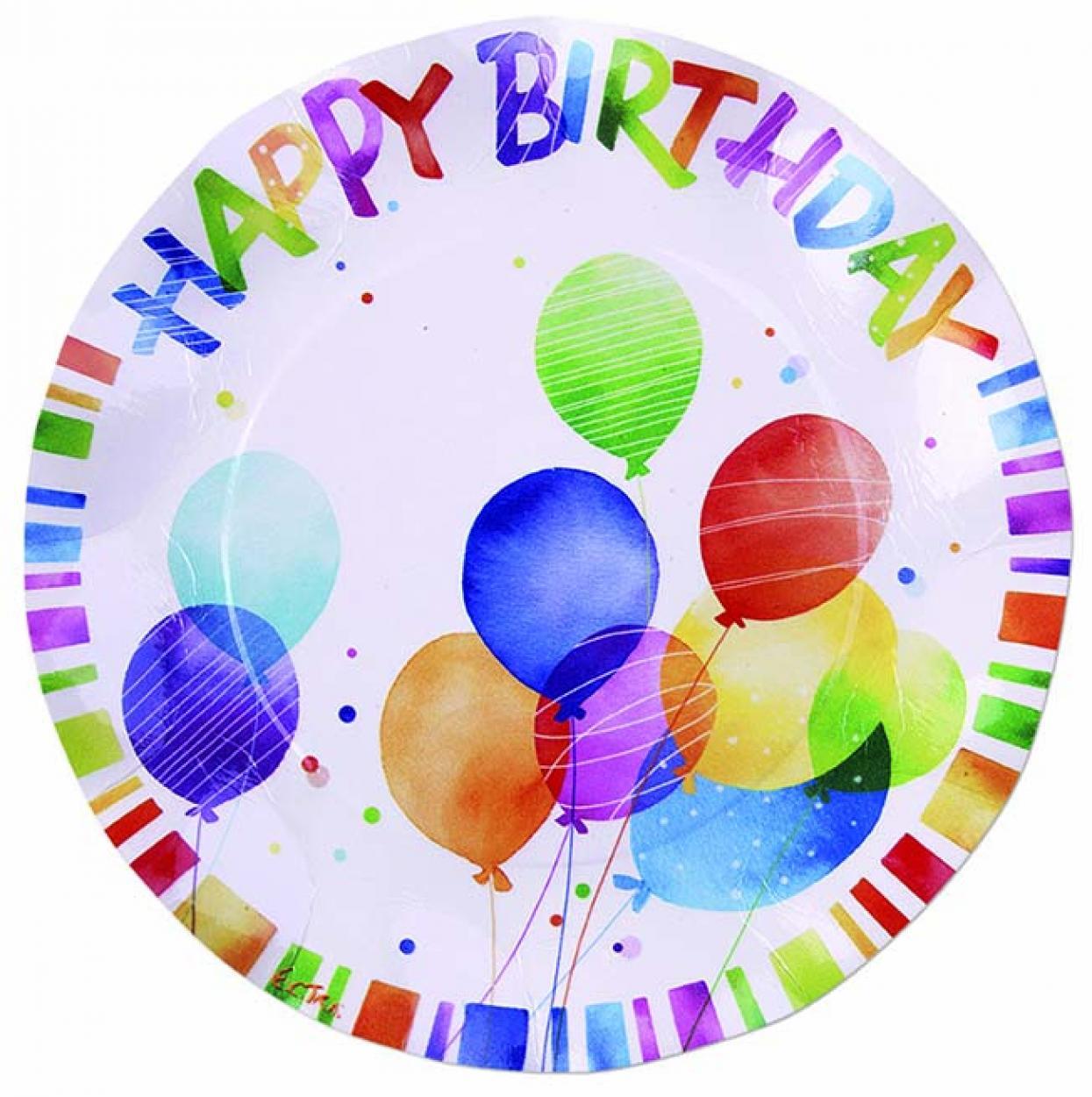 8 PIATTI HAPPY BIRTHDAY CM.27 41VH