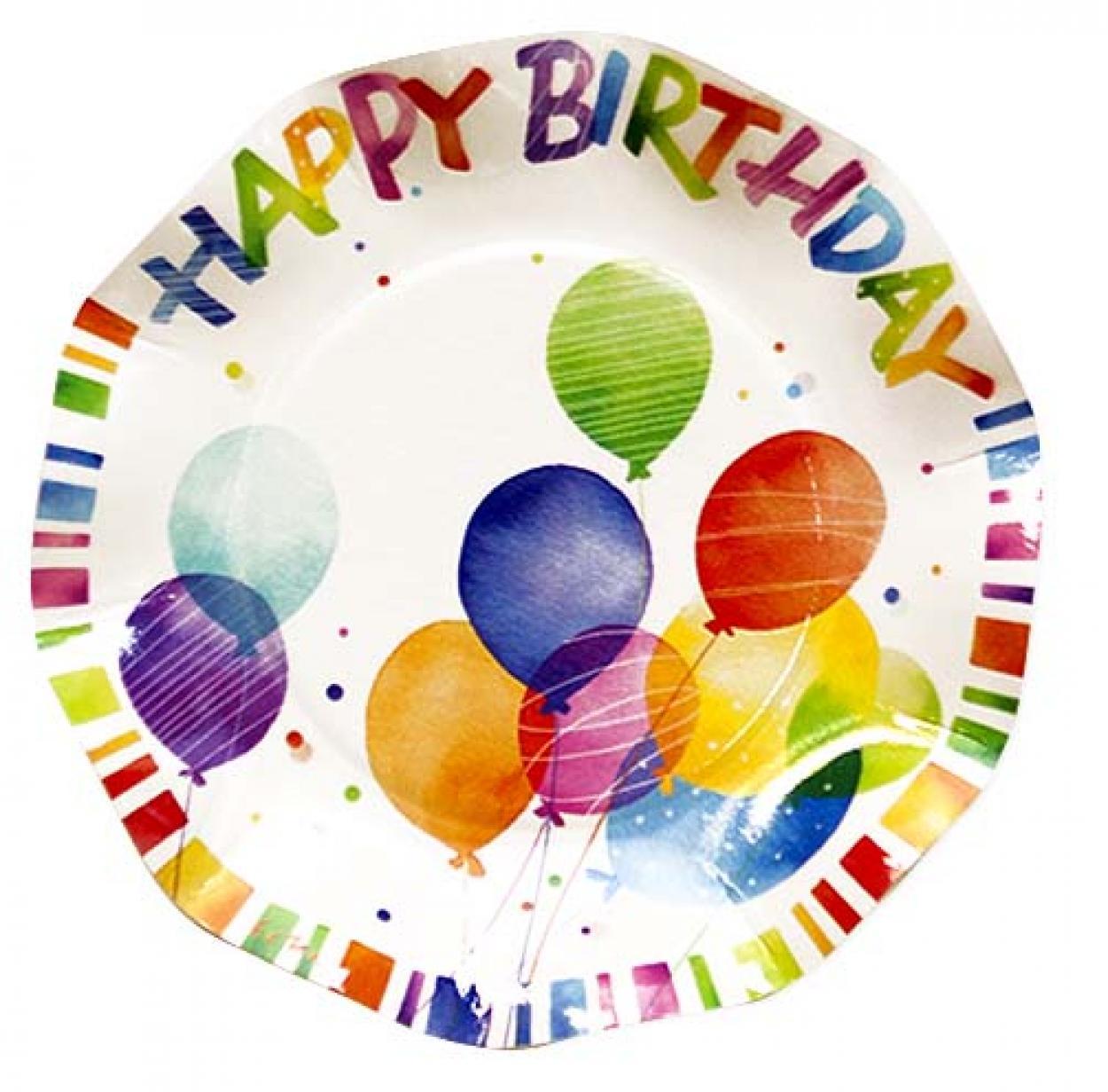 8 PIATTI HAPPY BIRTHDAY CM.21 43VH